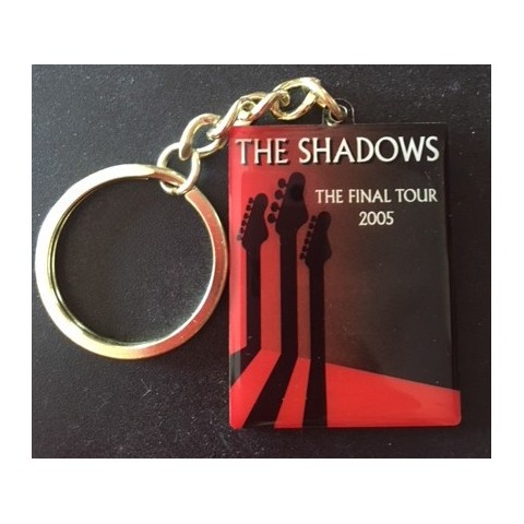 KEYRING - THE SHADOWS FINAL TOUR - Official tour merchandise