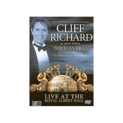 CLIFF RICHARD - BOLD AS BRASS - DVD