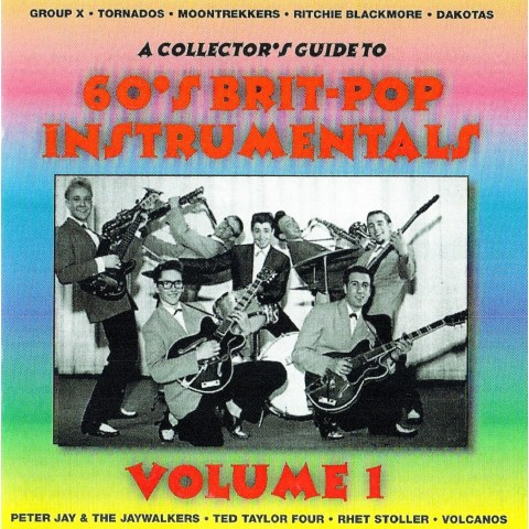 A COLLECTORS GUIDE TO BRIT-POP VOLUME 1 - STYLUS - CD