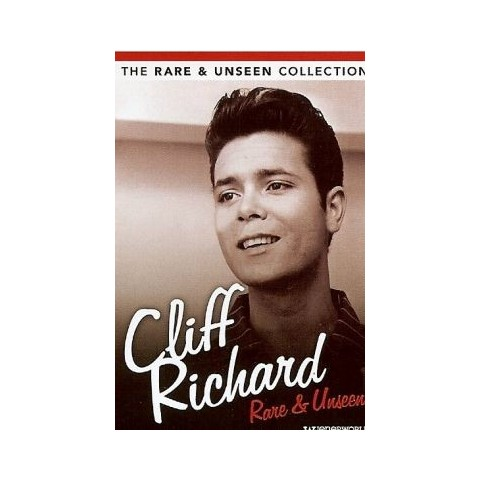 CLIFF RICHARD - RARE AND UNSEEN - DVD