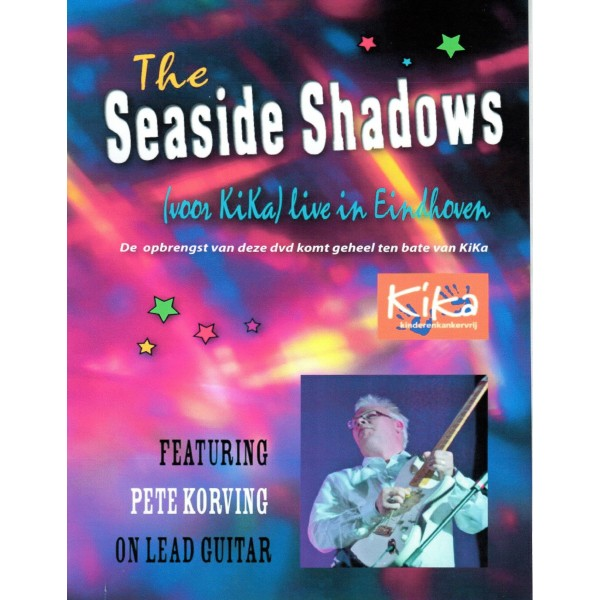 THE SEASIDE SHADOWS - LIVE IN EINDHOVEN - PETE KORVING DVD - IMPORT