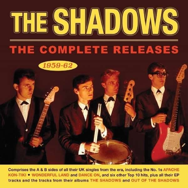 THE SHADOWS - COMPLETE RELEASES 59-62 - IMPORT 2CD