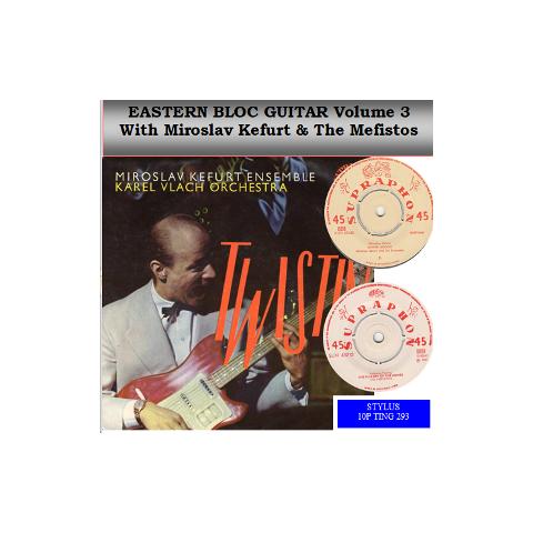 EASTERN BLOC GUITAR - STYLUS - CD