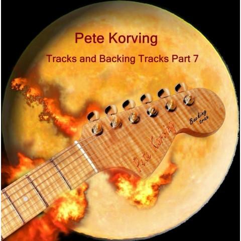 PETE KORVING -  BACKING TRACK VOLUME 7 - IMPORT CD