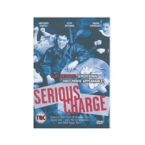 CLIFF RICHARD - SERIOUS CHARGE - DVD