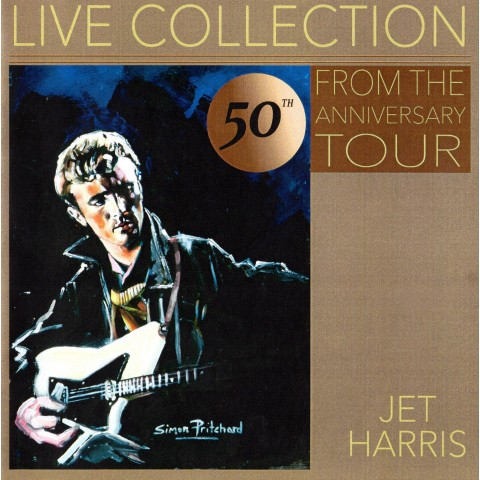 JET HARRIS - 50th ANNIVERSARY TOUR Feat RAPIERS /BILLIE DAVIS - CD