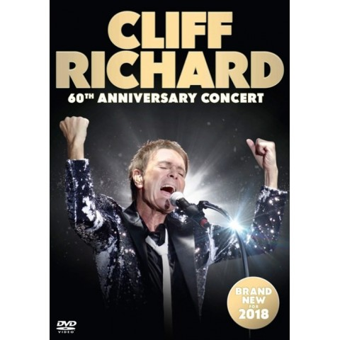 CLIFF RICHARD - 60TH ANNIVERSARY TOUR - DVD - 2018