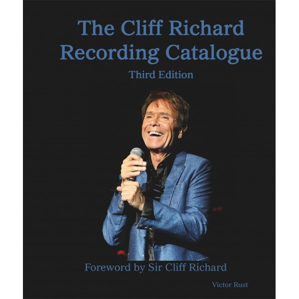 CLIFF RICHARD - COMPLETE RECORDING CATALOGUE - BOOK