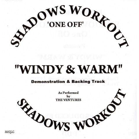 IAN MCCUTCHEON - WINDY & WARM - 2 TRACK BACKING TRACK - CD