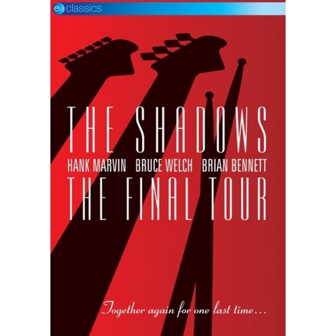 THE SHADOWS - FINAL TOUR - DVD