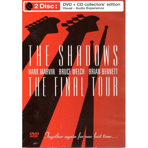 THE SHADOWS - FINAL TOUR - CD - DVD