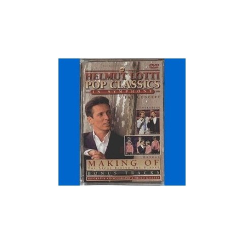 HELMUT LOTTI (with Cliff as guest artist) - POP CLASSICS IN SYMPHONY - DVD