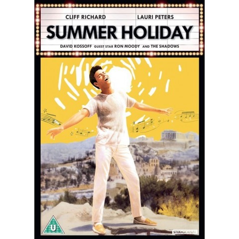 SUMMER HOLIDAY - CLIFF RICHARD - THE SHADOWS - DVD
