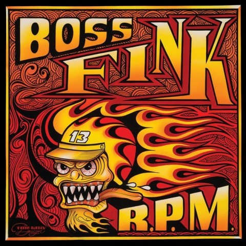 BOSS FINK - R.P.M - CD - IMPORT