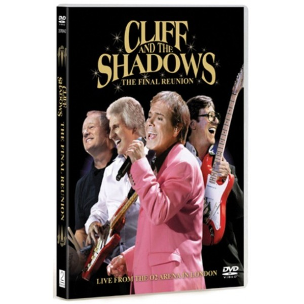 CLIFF RICHARD & THE SHADOWS - REUNITED - THE FINAL REUNION - DVD