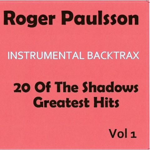 ROGER PAULSSON - INSTRUMENTAL BACKTRAX - CDs