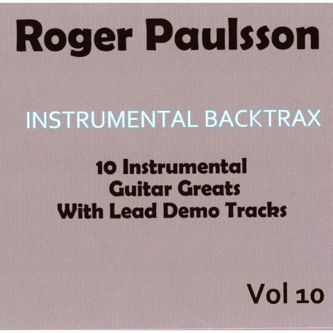 ROGER PAULSSON - INSTRUMENTAL BACKTRAX VOL 10 - CD
