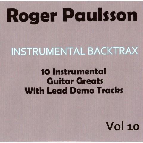 ROGER PAULSSON - INSTRUMENTAL BACKTRAX VOL 10 - CD BACKING TRACK