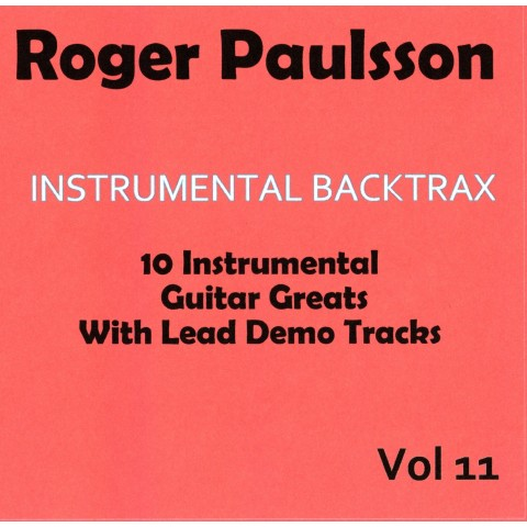 ROGER PAULSSON - INSTRUMENTAL BACKTRAX VOL 11 - CD BACKING TRACK