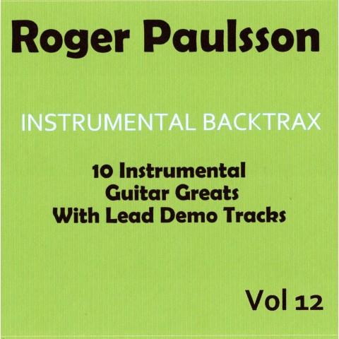 ROGER PAULSSON - INSTRUMENTAL BACKTRAX VOL 12 - CD BACKING TRACK