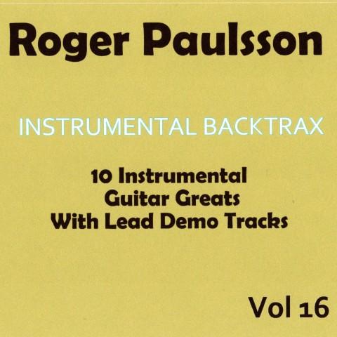 ROGER PAULSSON - INSTRUMENTAL BACKTRAX VOL 16 - CD BACKING TRACK
