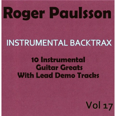 ROGER PAULSSON - INSTRUMENTAL BACKTRAX VOL 17 - CD