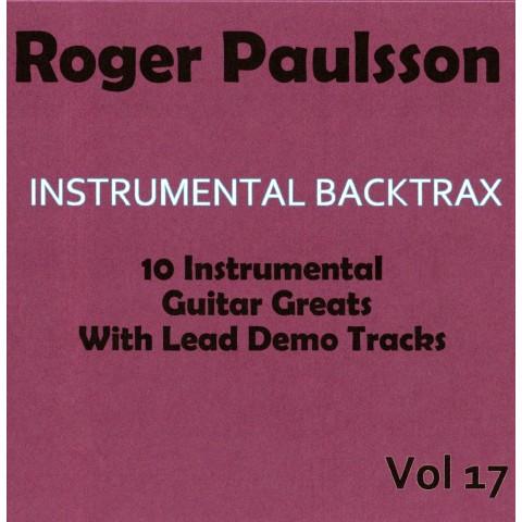 ROGER PAULSSON - INSTRUMENTAL BACKTRAX VOL 17 - CD BACKING TRACK