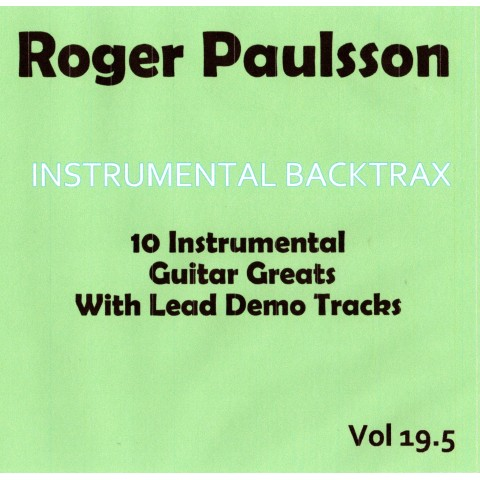 ROGER PAULSSON - INSTRUMENTAL BACKTRAX VOL 19.5 - CD