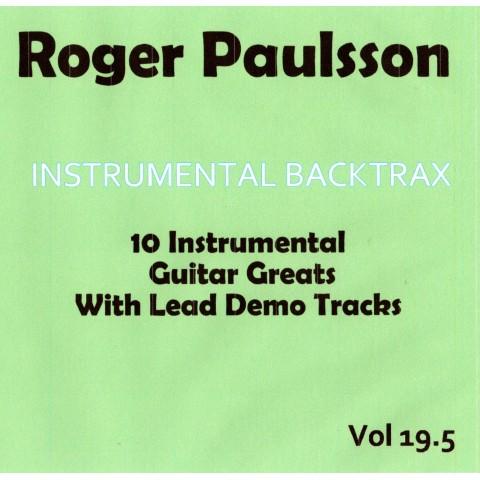 ROGER PAULSSON - INSTRUMENTAL BACKTRAX VOL 19.5 - CD BACKING TRACK