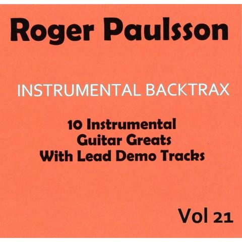 ROGER PAULSSON - INSTRUMENTAL BACKTRAX VOL 21 - CD BACKING TRACK