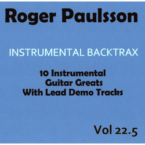 ROGER PAULSSON - INSTRUMENTAL BACKTRAX VOL 22.5 - CD