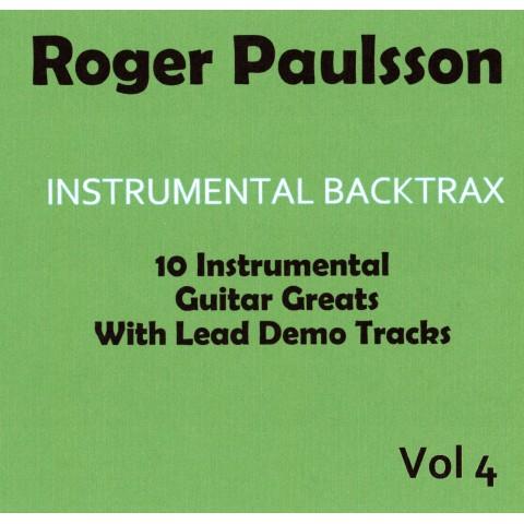 ROGER PAULSSON - INSTRUMENTAL BACKTRAX VOL 4 - CD BACKING TRACK