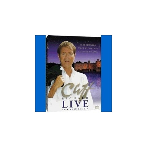 CLIFF RICHARD - CLIFF RICHARD LIVE - CASTLES IN THE AIR - VHS