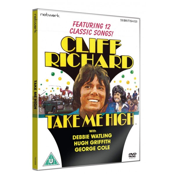 CLIFF RICHARD - TAKE ME HIGH - DVD