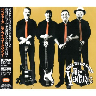 THE VENTURES - HERE WE GO AGAIN! - 2CD JAPANESE IMPORT