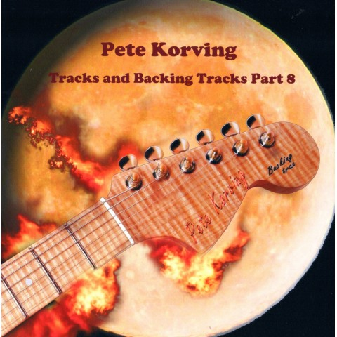 PETE KORVING - BACKING TRACK VOLUME 8 - IMPORT CD