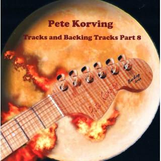 PETE KORVING - BACKING TRACK VOLUME 8 - IMPORT CD
