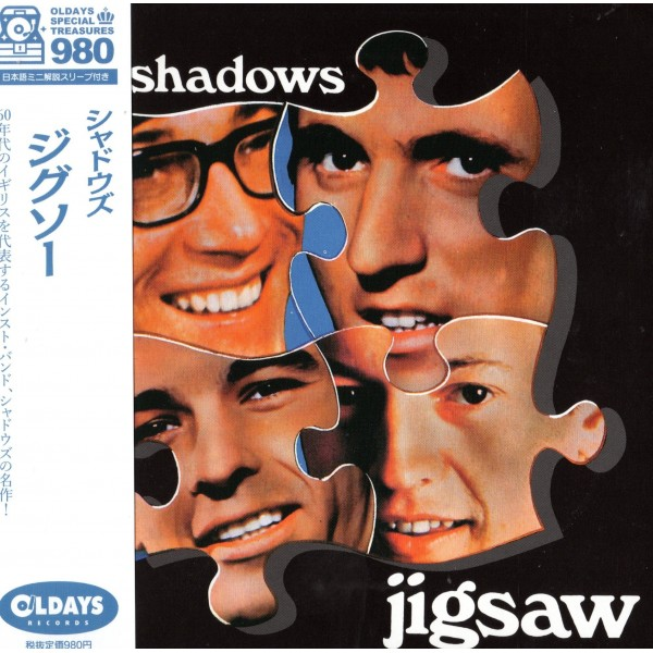 THE SHADOWS - JIGSAW - JAPANESE IMPORT CD