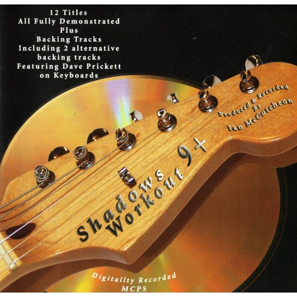 BACKING TRACK CD - IAN McCUTCHEON - SHADOWS WORKOUT 9+
