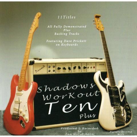 IAN McCUTCHEON - SHADOWS WORKOUT 10+ - BACKING TRACK CD