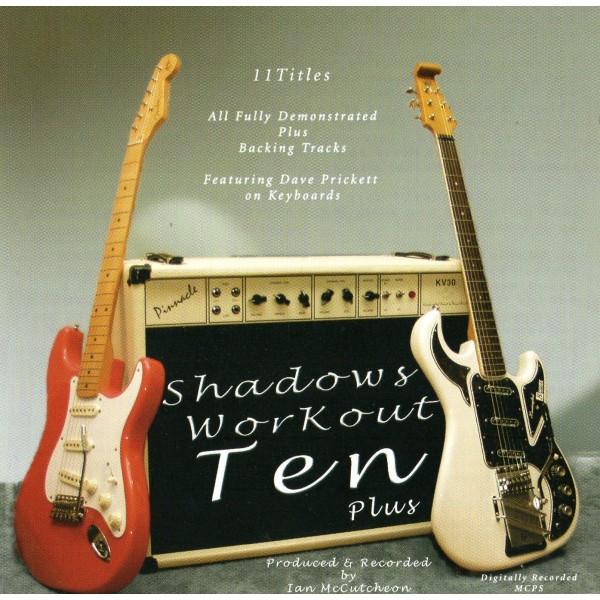 BACKING TRACK CD - IAN McCUTCHEON - SHADOWS WORKOUT 10+