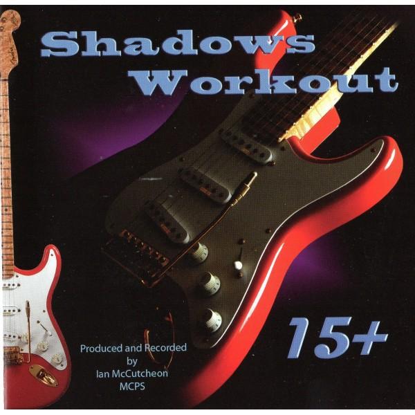 BACKING TRACK CD - IAN MCCUTCHEON - SHADOWS WORKOUT 15+