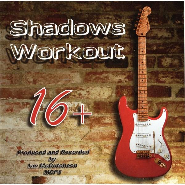 BACKING TRACK CD - IAN MCCUTCHEON - SHADOWS WORKOUT 16+