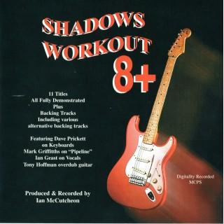 BACKING TRACK CD - IAN McCUTCHEON - SHADOWS WORKOUT 8+