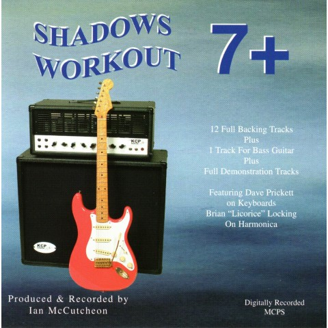 IAN McCUTCHEON - SHADOWS WORKOUT 7 + - BACKING TRACK CD