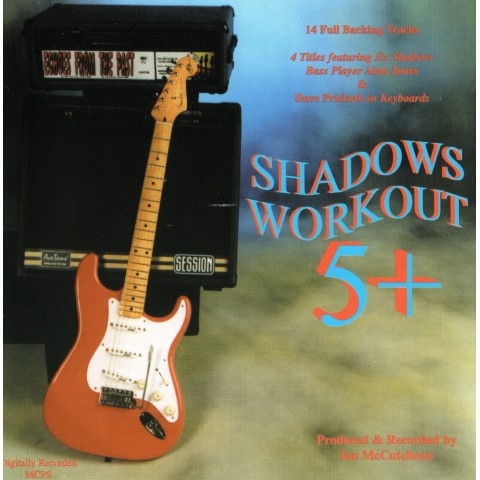 IAN MCCUTCHEON - SHADOWS WORKOUT 5 +  - BACKING TRACK CD
