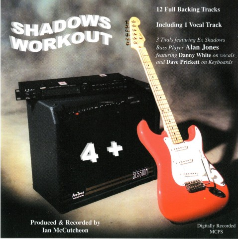 IAN MCCUTCHEON - SHADOWS WORKOUT 4 + - BACKING TRACK CD