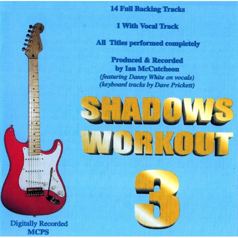 IAN MCCUTCHEON - SHADOWS WORKOUT 3 - BACKING TRACK CD