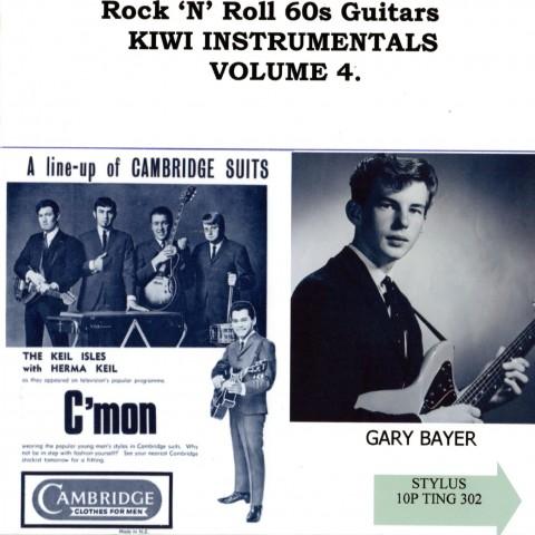 ROCK N ROLL 60S GUITARS INSTRO KIWI VOL 4 - CD - STYLUS