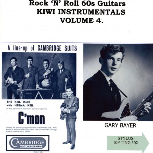 ROCK N ROLL 60S GUITARS INSTO KIWI VOL 4 - CD - STYLUS